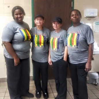 The CNP staff at Hampton Cove Elementary and Middle School