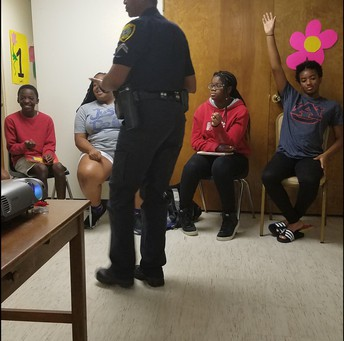 CPTED & TAPS Academy gets HYPE!