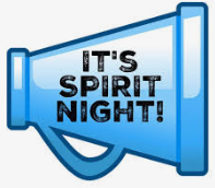 Join Us for Spirit Night - Wednesday, January 16th