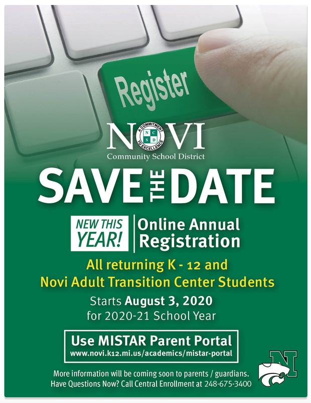 Online Registration Save the Date