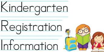 Register your student for Kindergarten