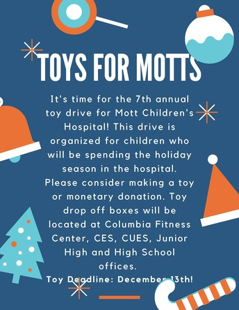 Toys for Motts Deadline is approaching!
