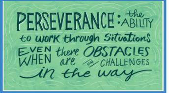 Counselor's Corner: January SEL theme- Perseverance!