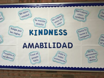 Kindness / Amabilidad Main Office Bulletin Board