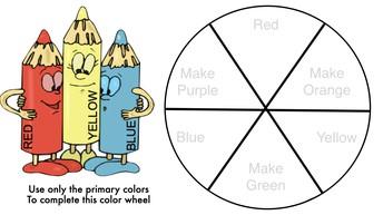 Color Wheel Kindergarten