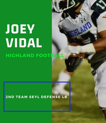 Senior Joey Vidal