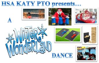 PTO Winter Wonderland Dance & Volunteers Needed
