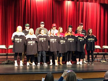 NATIONAL COLLEGE SIGNING DAY