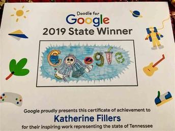 Doodle for Google! - From Mrs. Burchett
