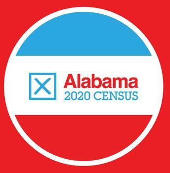 Alabama 2020 Census logo