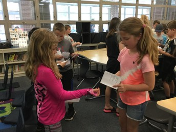 OMS Celebrates Poem In Your Pocket Day
