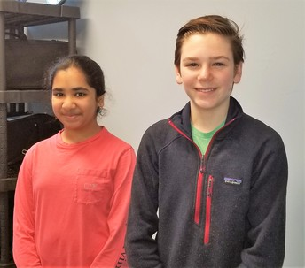 Students' Spotlight- Avanthika Suryadevara & Jasper Bent at WMS