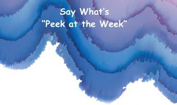 Peek at the Week Teacher Edition
