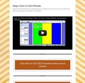 Magic Color on Color Reveals