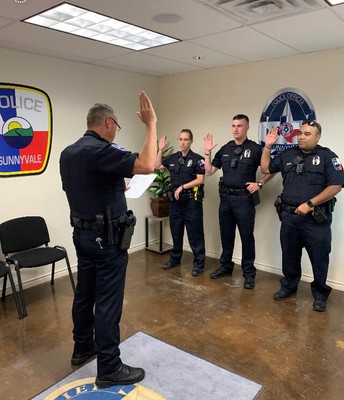 Sunnyvale Police hires first patrol officers