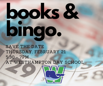 Save the Date: Books & Bingo Fundraiser!