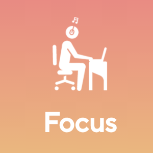 Listen while working, doing creative work etc.