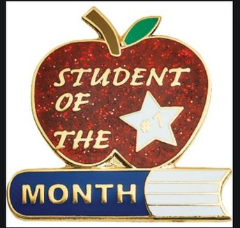 October's Student of the Month