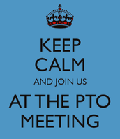 PTO Meeting - Wednesday, September 13th @ 6:00