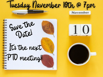 ACMA PTO Meeting Nov 10th @ 7pm