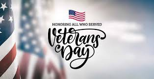 Annual Veterans Day Celebration to be held at CMS of Friday