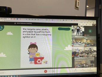 Thank you 3/4P for leading us in an Earth Day prayer in our virtual assembly.