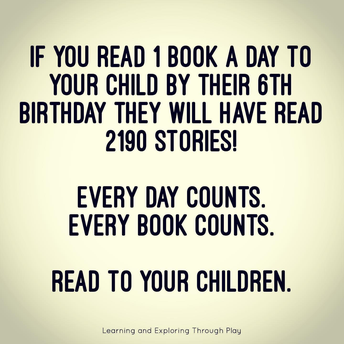 Read to someone today...