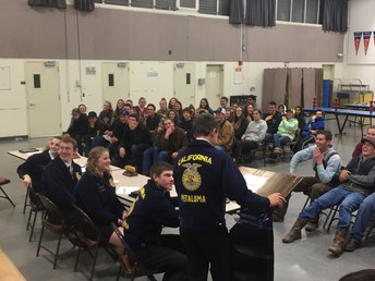 FFA Chapter Meeting