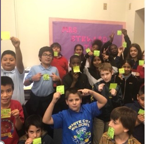 Students at White City Elementary Shared Kindness with themselves and others in honor of Kindness Month