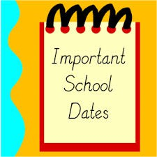 Important Dates for Upcoming Events