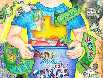 For more information about the Don't Mess with Texas Art Contest, visit Keep Texas Beautiful