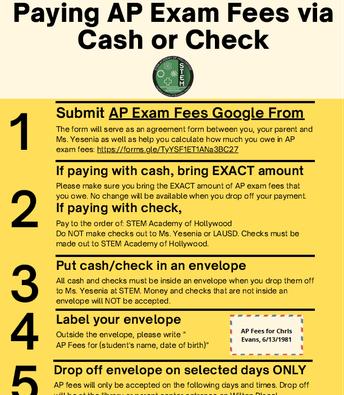 AP Exam Info