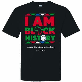 Black History Program/ T-Shirts $10