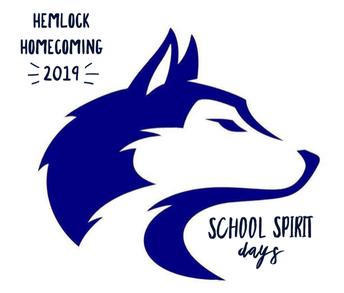 Homecoming 2019 - Spirit Days