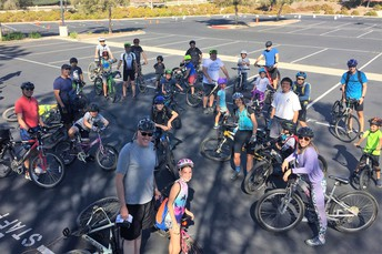 DADS Sponsored Canyon Bike Ride