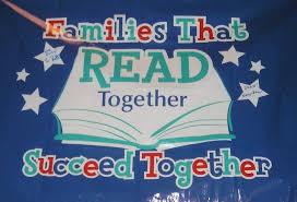 K-3 Family Reading Night:  September 12