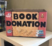 New! Book Donation Box