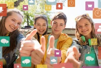 Ayudando a los estudiantes a estar seguros en las redes sociales