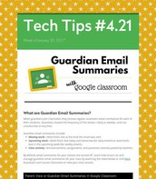 Guardian Email Summaries with Google Classroom