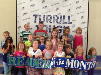 E5-2nd Grade August and September Readers of the Month