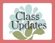 Quarter 4 Specials Classes Updates