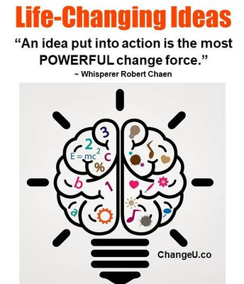 Life-Changing Ideas. The Power of the MIND. The Law of Attraction.