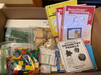 Right Start Math Kit $100 * BAKERSFIELD