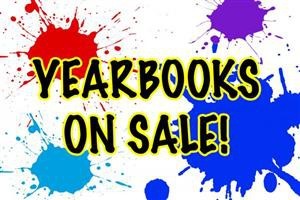 Yearbooks Now on Sale!!