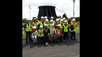 Looking the Part at Ardnacrusha Hydroelectric POwer Station