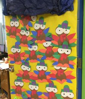 Mr. Poole & Mrs. Potenza's 2nd Grade Door