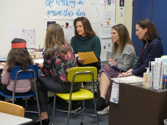 Governor Whitmer Visits Troy School District - Reading Recovery Advocacy