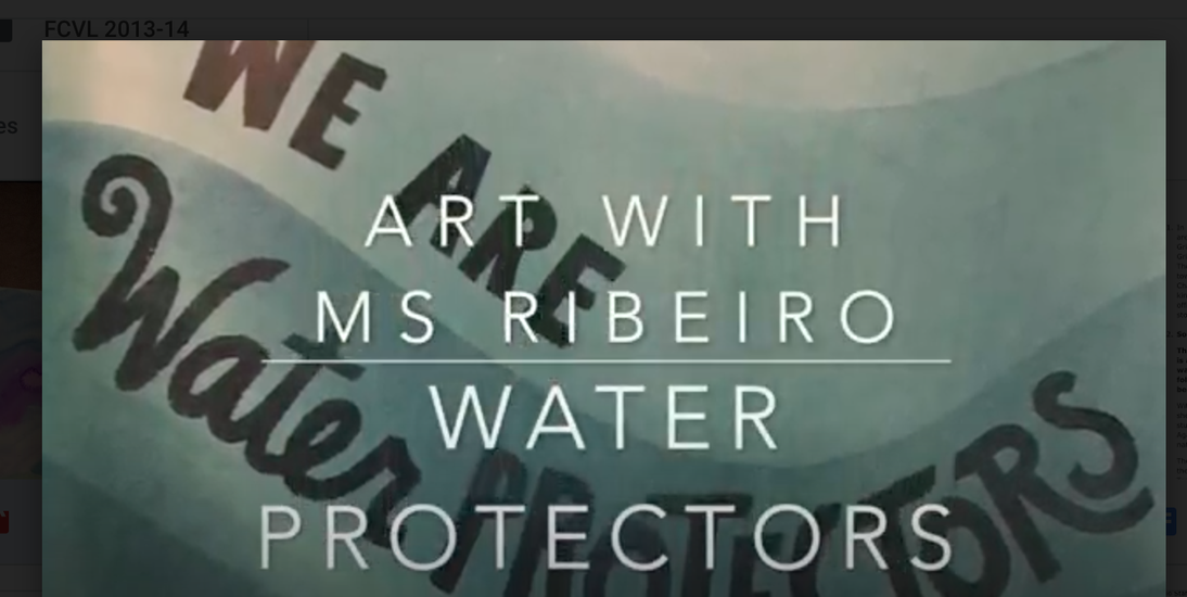 Art with Ms. Ribeiro: Water Protectors