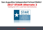 STAAR Alt 2 Training
