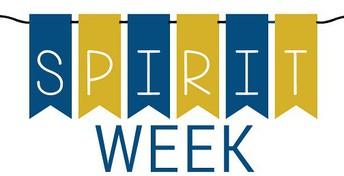 School Spirit Week 12/16 - 12/20